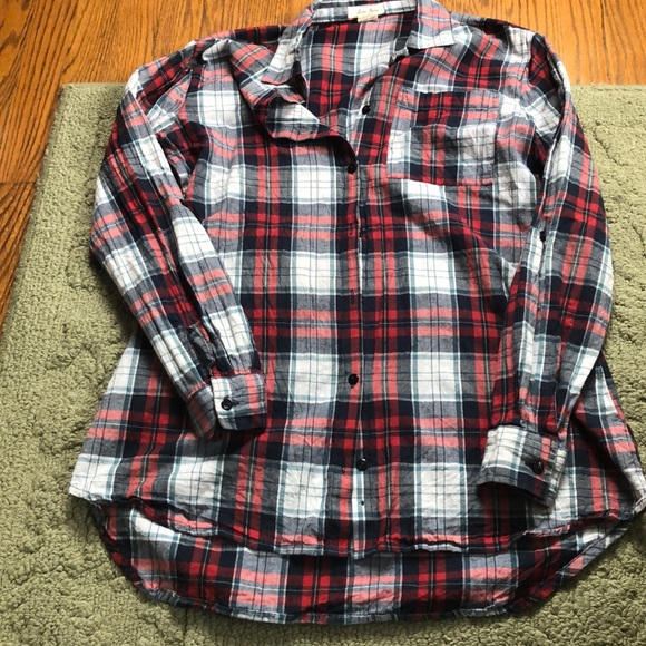 b87019f5 Love Notes Tops | Womens Plaid Button Down Shirt | Poshmark